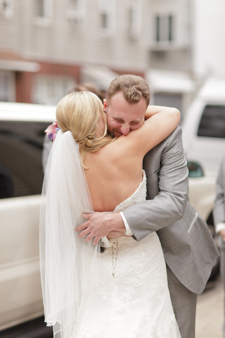 Brooklyn New York Wedding Photographer Bride and Groom Embracing