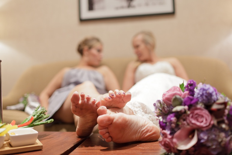 Brooklyn New York Wedding Photographer Stage 6 At Steiner Studios Bride's Feet