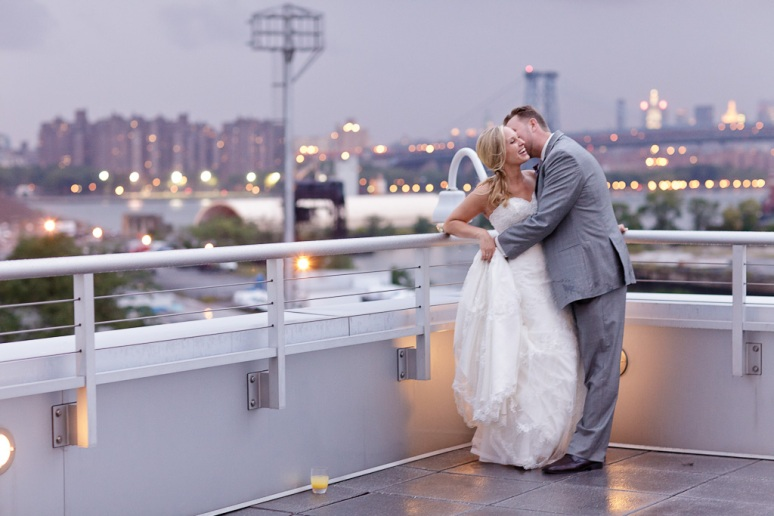 Brooklyn New York Wedding Photographer Stage 6 At Steiner Studios Bride and Groom