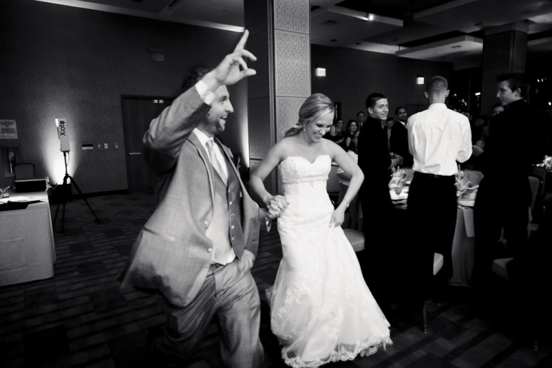 Brooklyn New York Wedding Photographer Stage 6 At Steiner Studios Bride and Groom's Entrance
