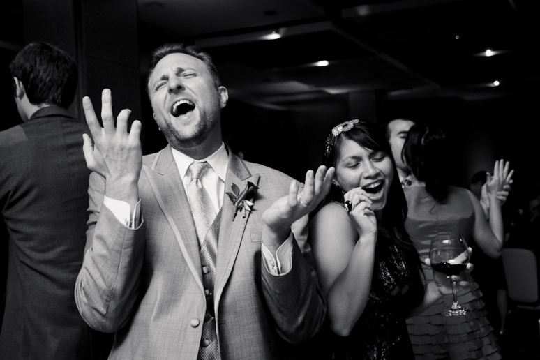 Brooklyn New York Wedding Photographer Stage 6 At Steiner Studios Bride and Groom Dancing
