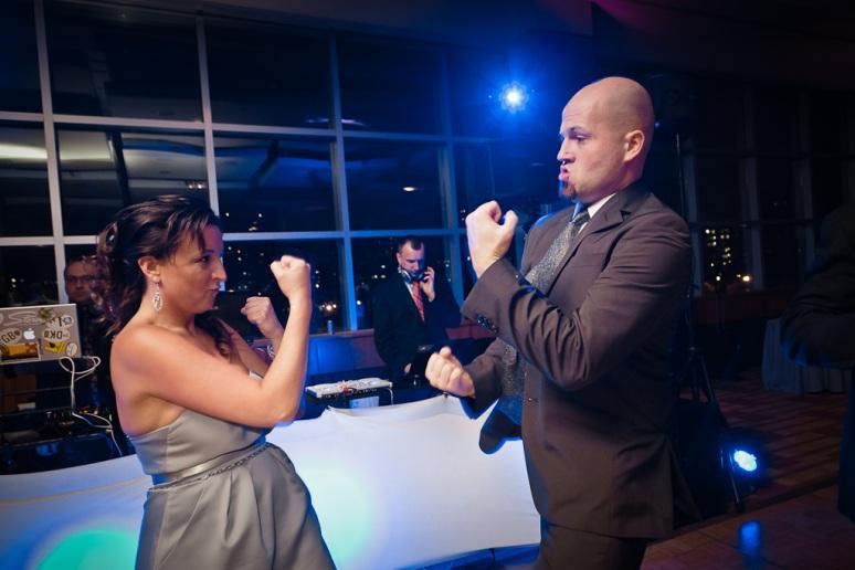 Brooklyn New York Wedding Photographer Stage 6 At Steiner Studios Couple Dancing