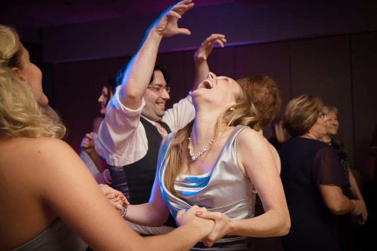 Brooklyn New York Wedding Photographer Stage 6 At Steiner Studios Dancing