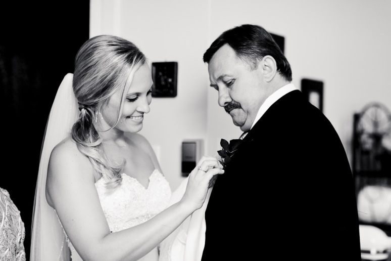 Brooklyn New York Wedding Photographer Bride with Father