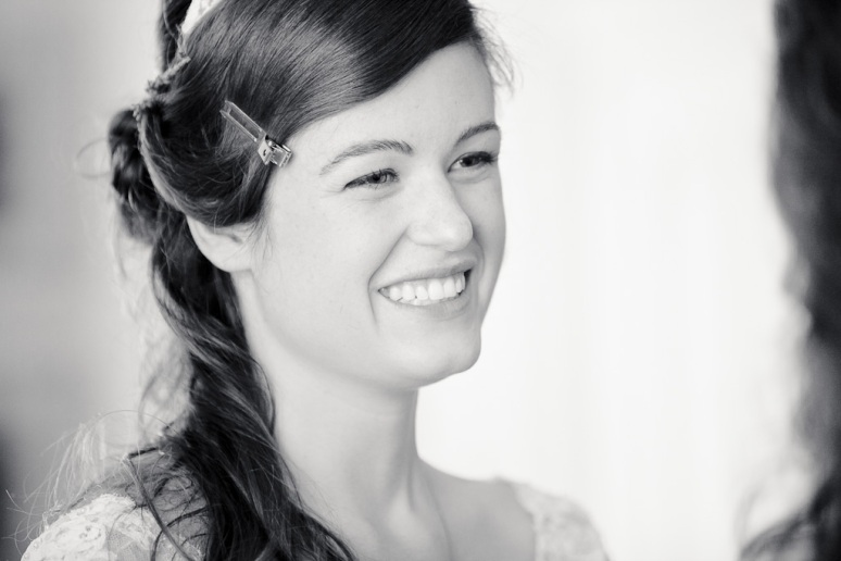 Chileno Valley Ranch Wedding Photographer Bride Laughing