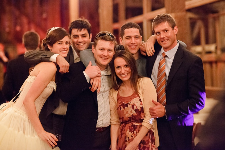 Rustic Vintage Wedding Photographer Guests and Couple at Reception