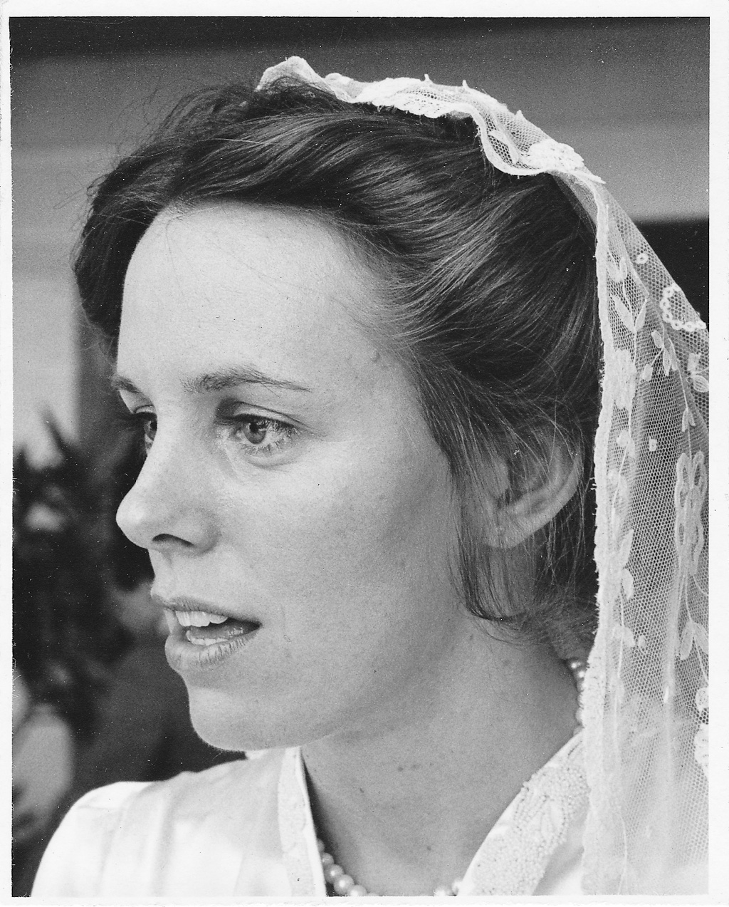 1970s Wedding Photograph of Bride Josephine Havlak