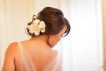 Santa Cruz Wedding Photographer Bride Getting Dressed