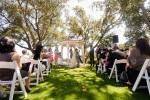 Santa Cruz Wedding Photographer Wedding Ceremony at Hollins House