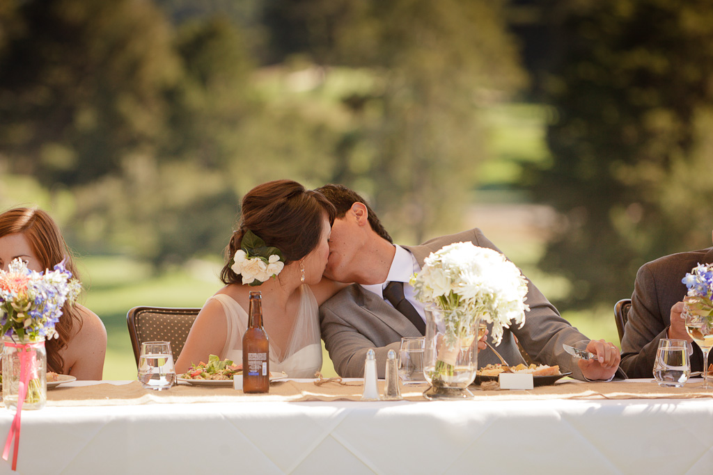 Santa Cruz Wedding Photographer Bride and Groom Kissing
