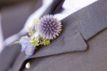 Santa Cruz Wedding Photographer Grooms Lavender Boutineer