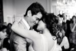Santa Cruz Wedding Photographer Bride and Groom during First Dance