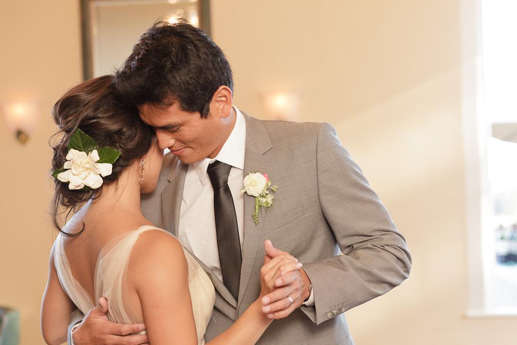 Santa Cruz Wedding Photographer Bride and Groom's First Dance