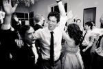 Santa Cruz Wedding Photographer Groom Dancing with his Father
