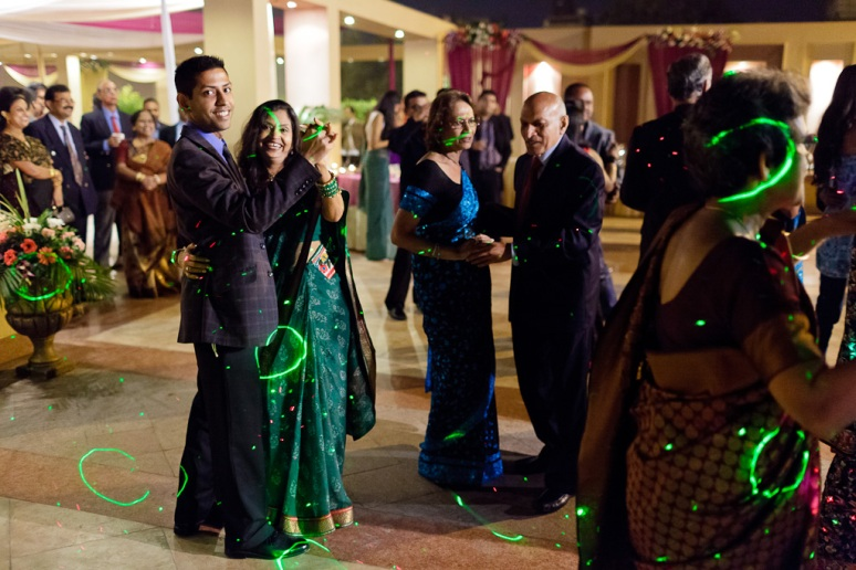 Indian Wedding Photographer New Delhi Wedding Guests Dancing