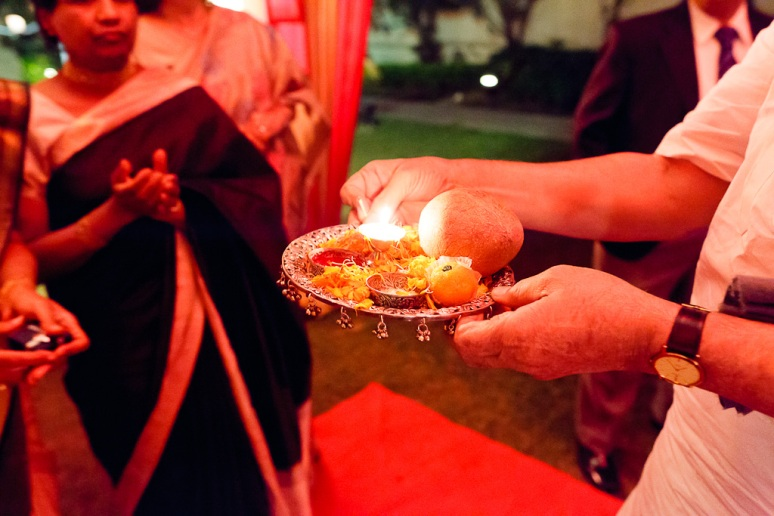New Delhi Indian Wedding Photographer Grace Havlak Candles