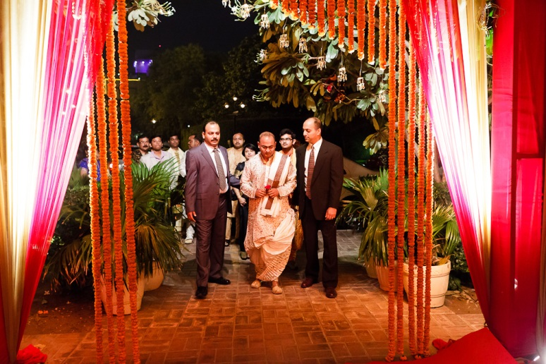 New Delhi Indian Wedding Photographer Grace Havlak Grooms Arrival