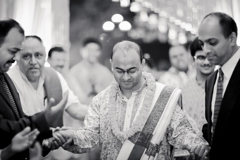 New Delhi Indian Wedding Photographer Grace Havlak Groom Arriving