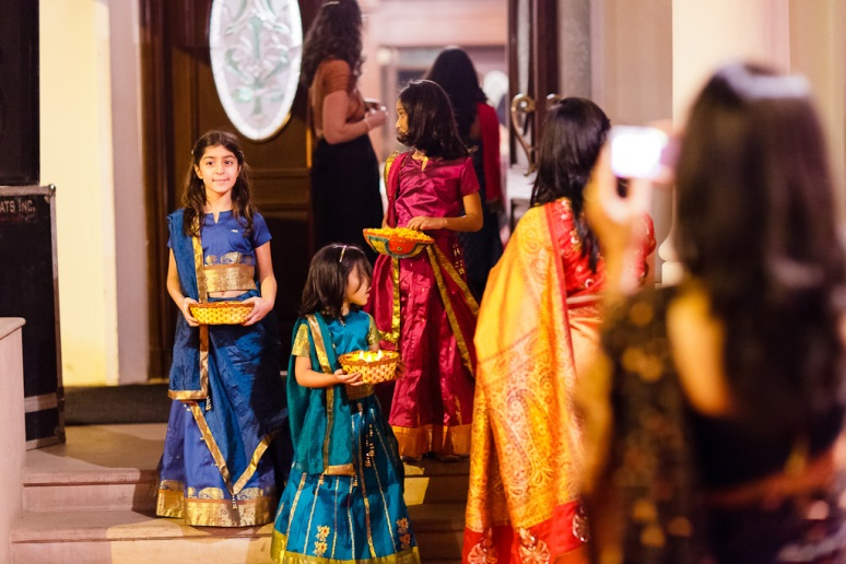 New Delhi Indian Wedding Photographer Grace Havlak Girls in Saris