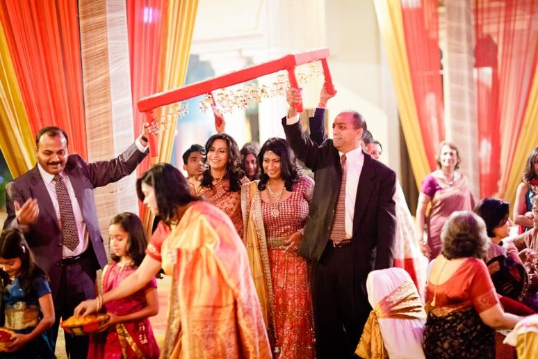 New Delhi Indian Wedding Photographer Grace Havlak Bride Entering