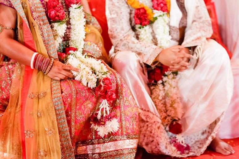 New Delhi Indian Wedding Photographer Grace Havlak Bride and Groom's Hands