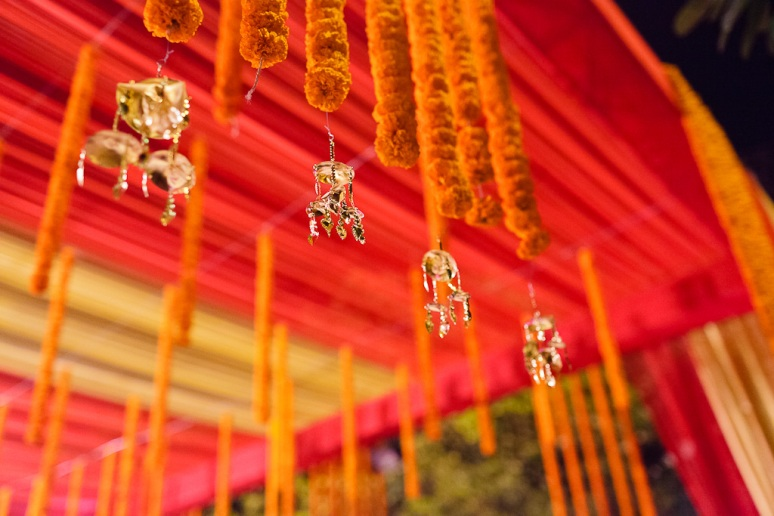 New Delhi Indian Wedding Photographer Grace Havlak Wedding Tent
