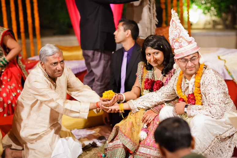 New Delhi Indian Wedding Photographer Grace Havlak Bride's Father