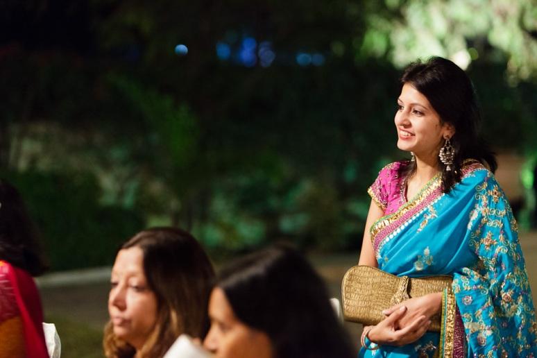 New Delhi Indian Wedding Photographer Grace Havlak Bride's Aunt
