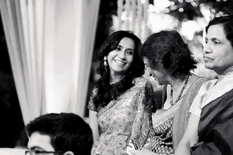New Delhi Indian Wedding Photographer Grace Havlak Bride's Sister Laughing