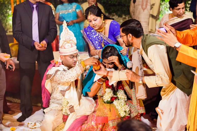 New Delhi Indian Wedding Photographer Grace Havlak Bride and Groom
