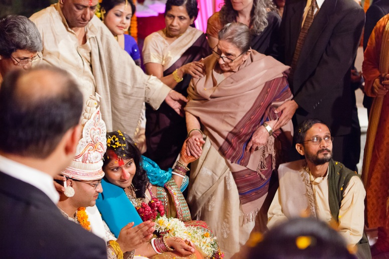New Delhi Indian Wedding Photographer Grace Havlak Bride and Grandmother