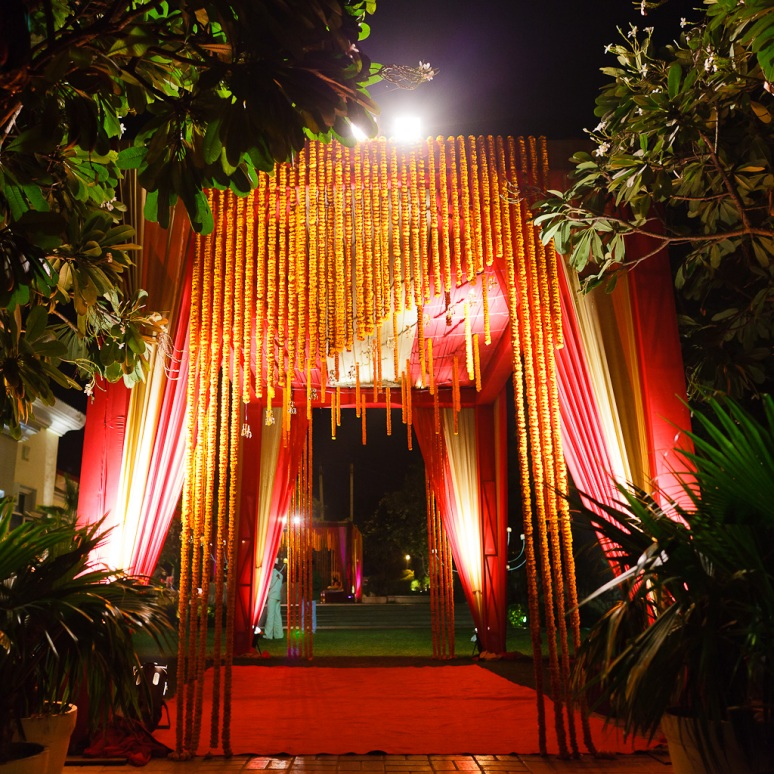 New Delhi Indian Wedding Photographer Grace Havlak Wedding Tent