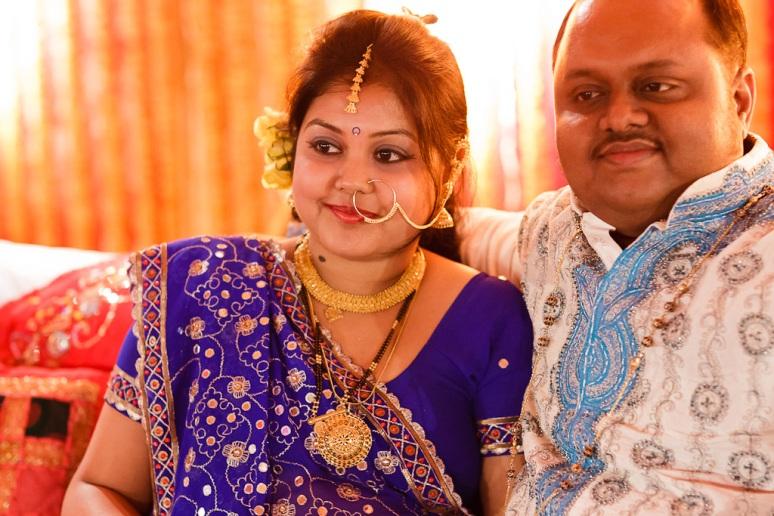 New Delhi Indian Wedding Photographer Grace Havlak Bengali Couple