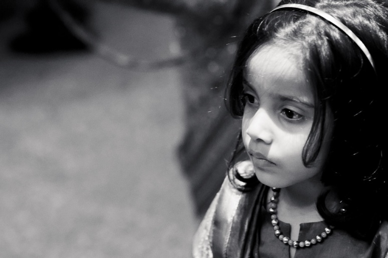 New Delhi Indian Wedding Photographer Grace Havlak Little Girl
