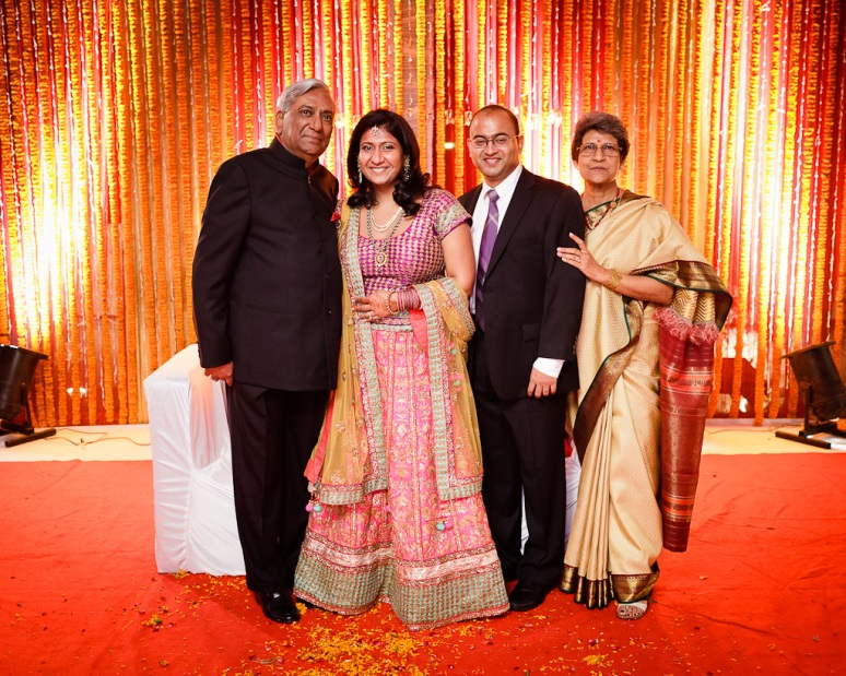 New Delhi Indian Wedding Photographer Grace Havlak Bride's Parents