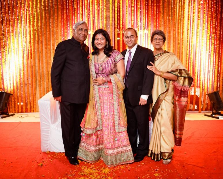 New Delhi Indian Wedding Photographer Grace Havlak Bride's Parents