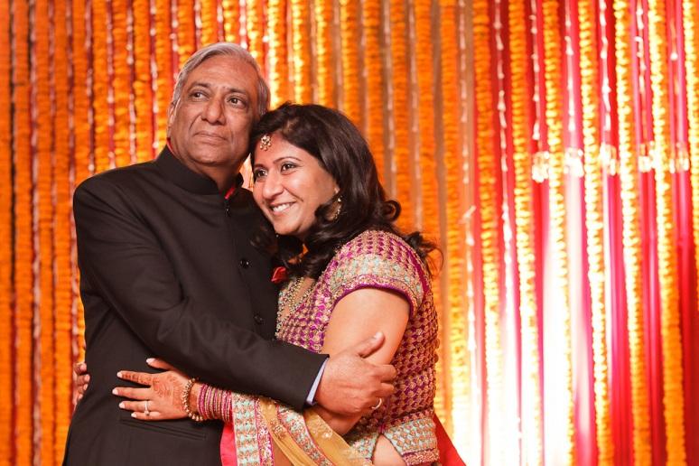 New Delhi Indian Wedding Photographer Grace Havlak Bride with Father