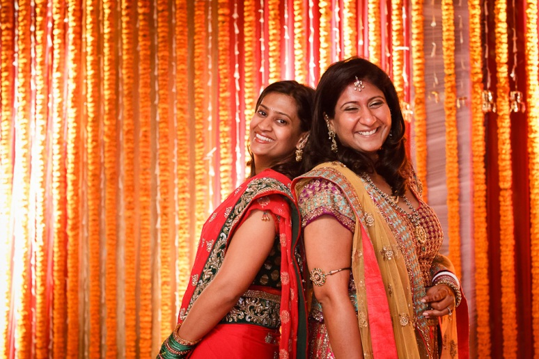 New Delhi Indian Wedding Photographer Grace Havlak Brides with Cousin
