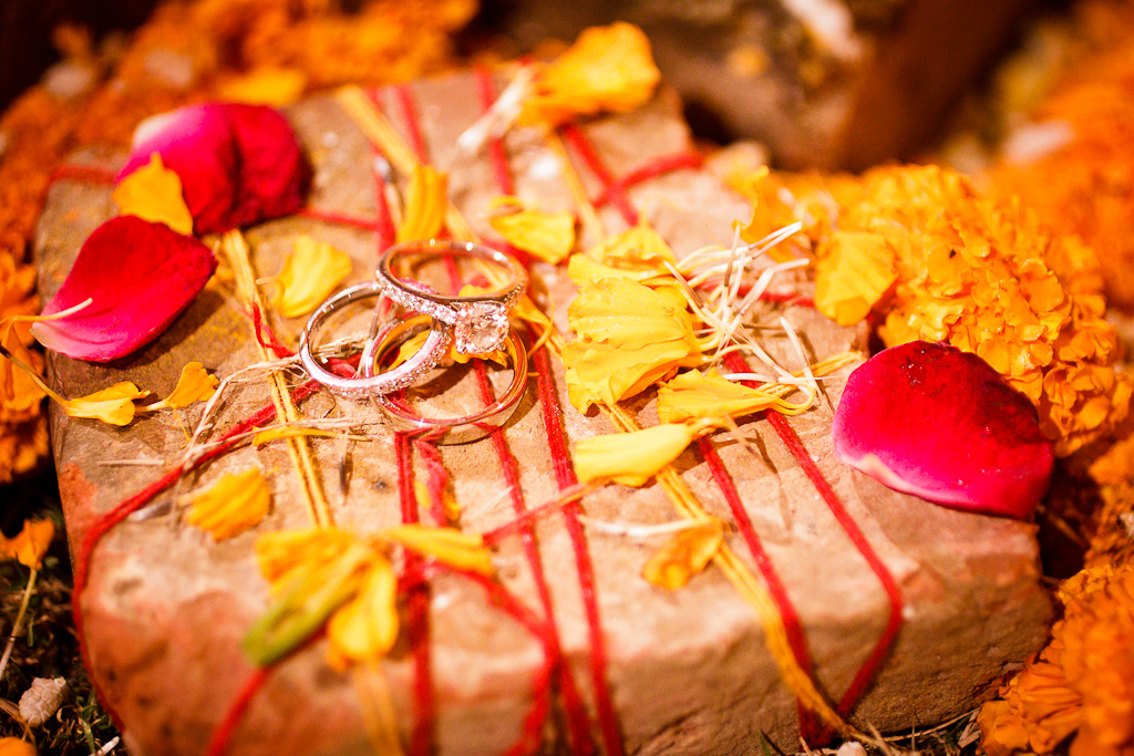 New Delhi Indian Wedding Photographer Grace Havlak Wedding Rings