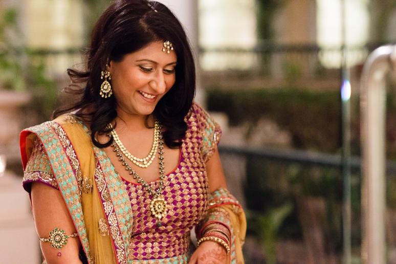 New Delhi Indian Wedding Photographer Grace Havlak Bride Laughing