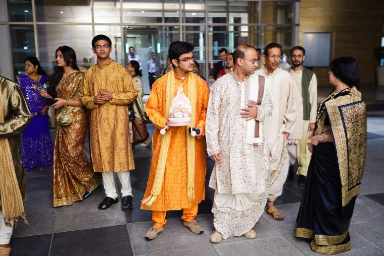 New Delhi Indian Wedding Photographer Grace Havlak Groom Preparing