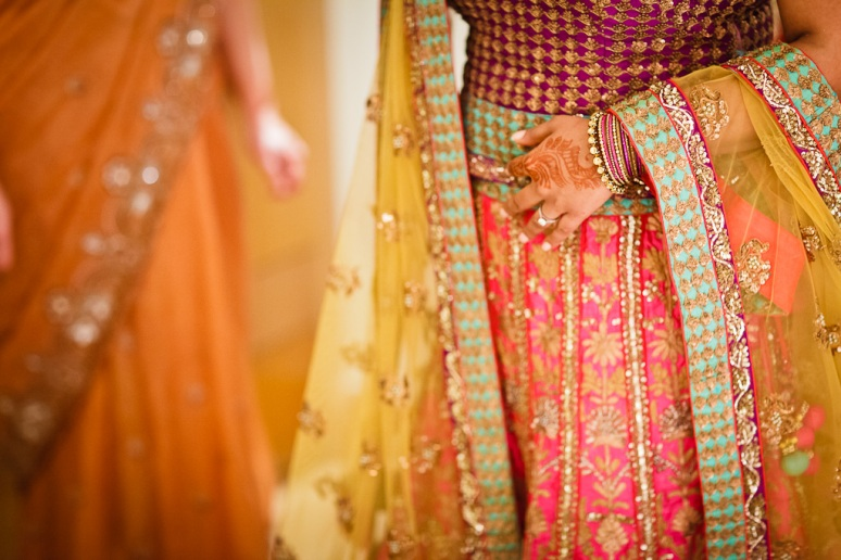 New Delhi Indian Wedding Photographer Grace Havlak Bride's Gown