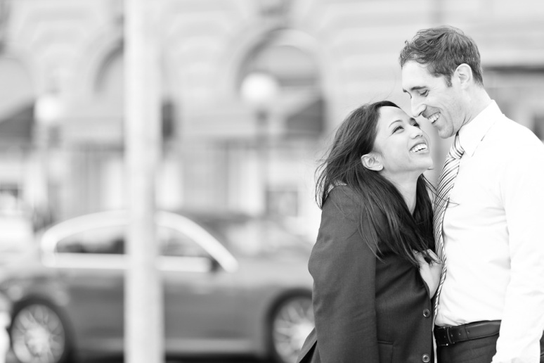 San Francisco Engagement Session in Union Square