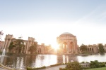The Palace of Fine Arts in San Francisco by Wedding Photographer Grace Havlak