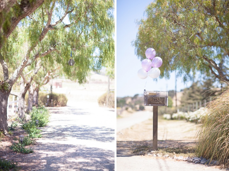 Santa Barbara Wedding Photographer Decorations outside Apple Creek Ranch near Santa Ynez
