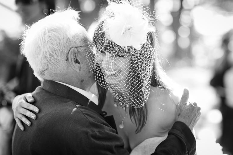 Los Angeles Palos Verdes Wedding Photographer Bride outside Lloyd Wright's Wayfarer's Chapel