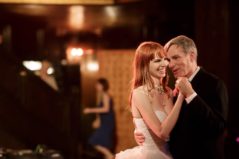 Downtown Los Angeles Wedding Photographer Father Daughter Dance at the 1928 Cicada