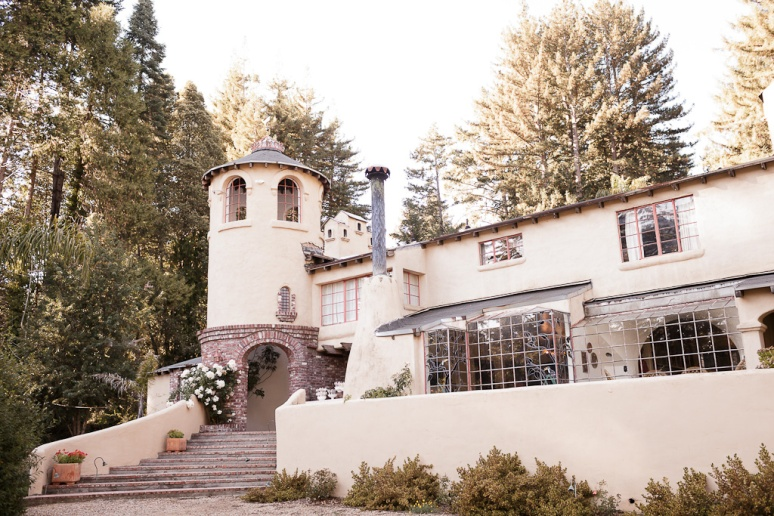 Santa Cruz Wedding Photographer The Castle House and Gardens Wedding Venue on Bonny Dune Road