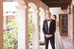 The First Look at Castle House and Gardens in Santa Cruz Wedding Photographer