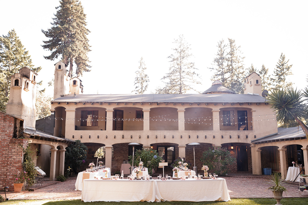 Santa Cruz Wedding Photographer Castle House and Gardens Wedding Reception